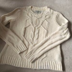 Aberceombie&Fitch cable knit sweater!